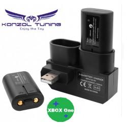 Dupla újratölthetõ akkumulátortelep töltõvel az Xbox One Gamepad BC575-hez