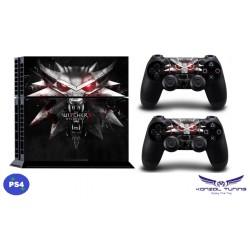 PS4  - Konzolra és kontrollerre -Matrica - W3