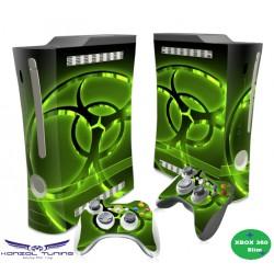 XBOX 360 Skin - Konzolra és kontrollerre -