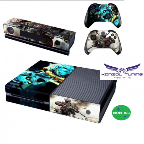Xbox One - Konzol és Kontroller matrica - War