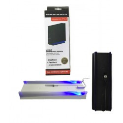 PS4 - Konzolhoz - Vertikális állvány - kék ledes