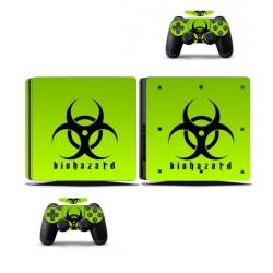 PS4 Skin - Konzolra és kontrollerre - Biohazard