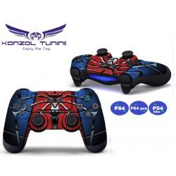 PS4 sorozat - Kontroller matrica - Spider Blue