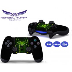 PS4 sorozat - Kontroller matrica - Spider - Green