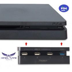 PS4 Slim - Konzolhoz USB HUB