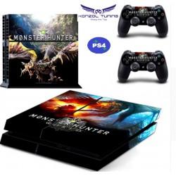 PS4  - Konzolra és kontrollerre - Matrica - M.H