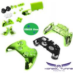 Xbox One - Kontroller burok - metál -  gombkeretes típus