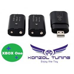 Xbox One  - Kontrollerhez dupla akkumulátor  töltő stick-kel