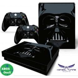 Xbox One X - Konzolra és kontrollerre - Matrica - Star